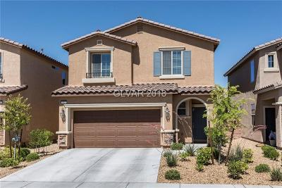 Las Vegas Single Family Home For Sale: 837 Earth Luster Road