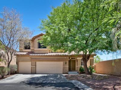 Las Vegas Single Family Home For Sale: 11698 Firesteed Place