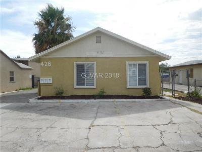 Las Vegas Multi Family Home For Sale: 426 North 15th Street