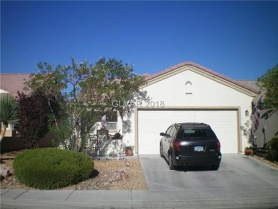 North Las Vegas Single Family Home For Sale: 7808 Homing Pigeon Street