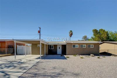 North Las Vegas Single Family Home For Sale: 1312 Webb Avenue