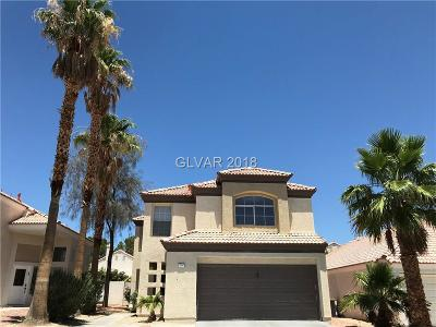 Las Vegas Single Family Home For Sale: 7840 Millhopper Avenue