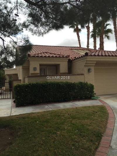 Las Vegas, North Las Vegas Rental For Rent: 7625 Spanish Lake Drive