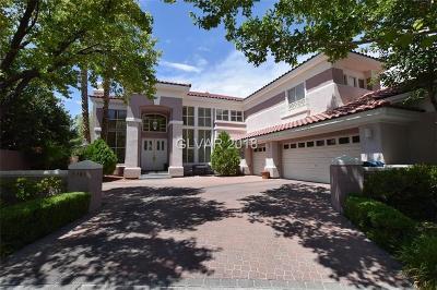 Las Vegas Single Family Home For Sale: 1701 Glenview Drive