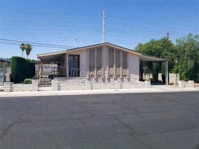 Las Vegas Manufactured Home Under Contract - No Show: 5544 Aldama Road