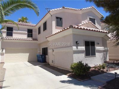 Henderson Single Family Home For Sale: 5984 Crumbling Ridge Street
