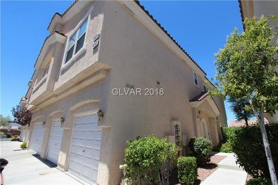 Henderson Condo/Townhouse For Sale: 1612 Lefty Garcia Way
