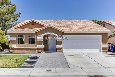 North Las Vegas NV Single Family Home For Sale: $290,000