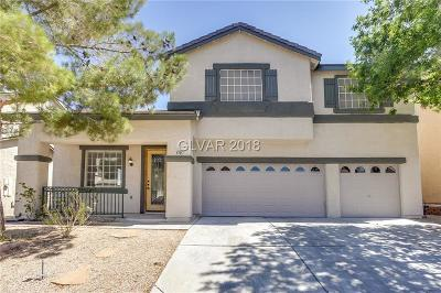 Las Vegas NV Single Family Home Under Contract - No Show: $416,000