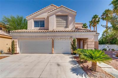 Henderson, Las Vegas Single Family Home For Sale: 3060 Cooper Creek Drive