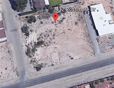 Las Vegas Residential Lots & Land Under Contract - Show: 432 Rossmore Drive