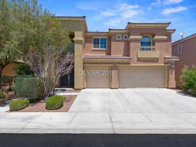 North Las Vegas Single Family Home Under Contract - No Show: 4016 California Condor Avenue