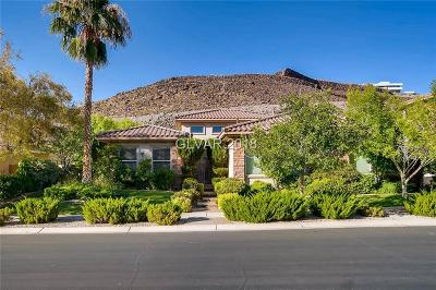 Henderson NV Single Family Home For Sale: $849,900