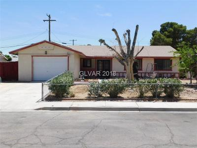 Las Vegas Single Family Home Under Contract - No Show: 4202 Canal Street