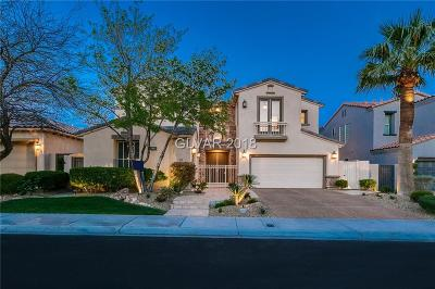 Las Vegas NV Single Family Home For Sale: $899,500