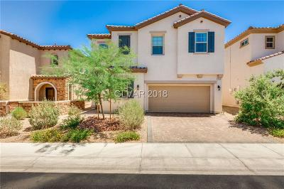 Henderson Single Family Home For Sale: 1104 Strada Cristallo