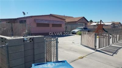Las Vegas NV Single Family Home For Sale: $165,000