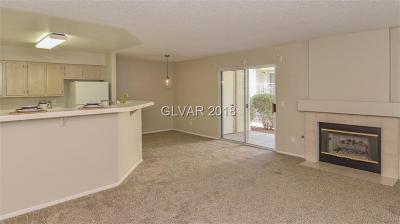 Las Vegas Condo/Townhouse For Sale: 7821 Tenshaw Avenue #103