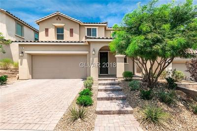 Las Vegas NV Single Family Home For Sale: $524,888