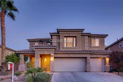 North Las Vegas Single Family Home Under Contract - Show: 2113 Mountain Rail Drive