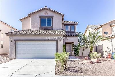 Las Vegas NV Single Family Home Under Contract - No Show: $340,000