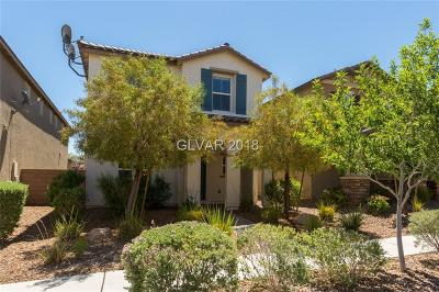 Henderson Single Family Home For Sale: 2392 Via Alicante