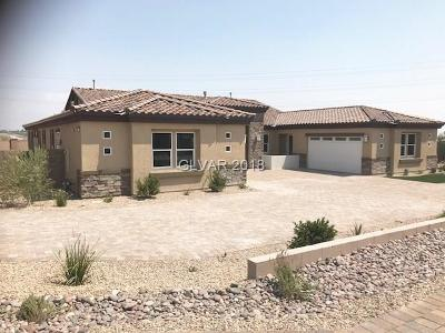 Las Vegas Single Family Home Under Contract - Show: 8755 Helena Avenue #Lot 4