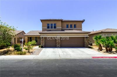 North Las Vegas Single Family Home For Sale: 1929 Bluff Knoll Court