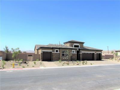 Clark County Single Family Home For Sale: 9390 Montessouri Street #LOT 1