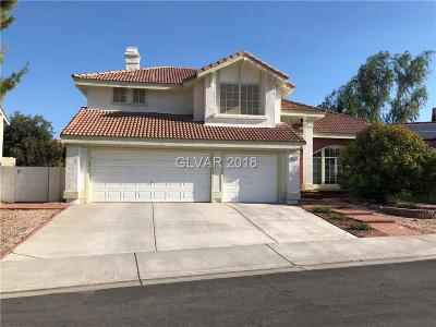 Las Vegas Single Family Home For Sale: 9729 Terrace Green Avenue