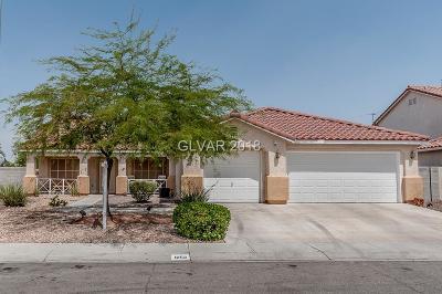 North Las Vegas Single Family Home For Sale: 6152 Star Decker Road