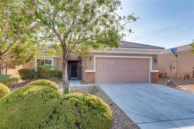 North Las Vegas Single Family Home For Sale: 7457 Chaffinch Street