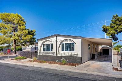 Las Vegas Manufactured Home For Sale: 3600 Katmai Drive