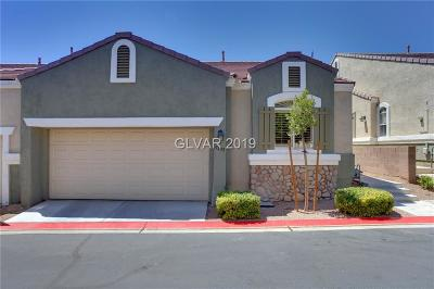 Las Vegas NV Condo/Townhouse For Sale: $315,000