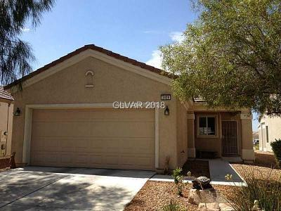 North Las Vegas Single Family Home Under Contract - No Show: 3409 Herring Gull Lane