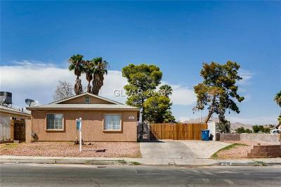 LAS VEGAS Single Family Home For Sale: 5534 Wellesley Drive