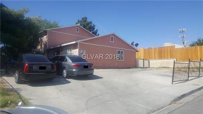 North Las Vegas Multi Family Home Under Contract - No Show: 17 Rose Circle