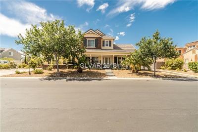 Las Vegas Single Family Home For Sale: 6301 Lauren Ashton Avenue