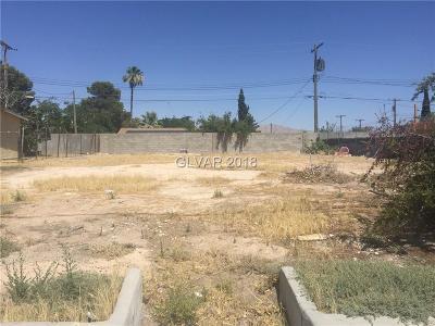 North Las Vegas Residential Lots & Land For Sale: 2234 Englestad Street