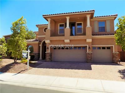 North Las Vegas Single Family Home For Sale: 7109 Puetollano Drive