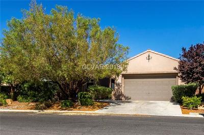Las Vegas NV Single Family Home Under Contract - No Show: $519,900