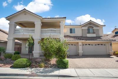 North Las Vegas Single Family Home For Sale: 7016 Manzanares Drive