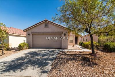 Las Vegas NV Single Family Home Under Contract - No Show: $224,000