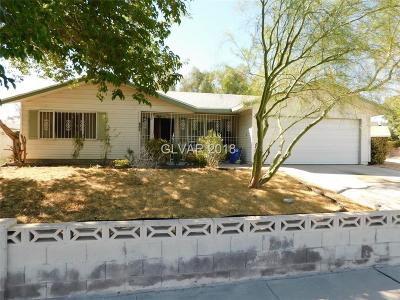 Las Vegas Single Family Home Under Contract - No Show: 809 Palmhurst Drive