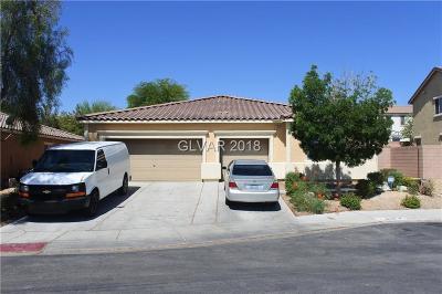 North Las Vegas Single Family Home For Sale: 6639 April Bend Court