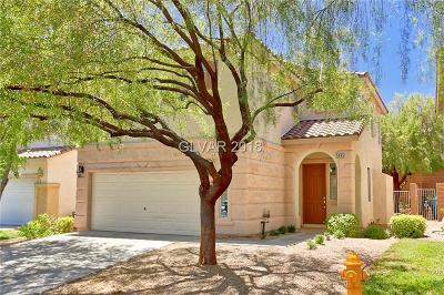 Las Vegas Single Family Home For Sale: 5895 Lustrous Court