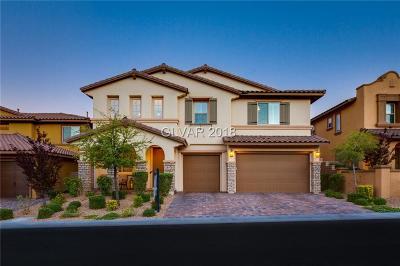 Las Vegas Single Family Home For Sale: 12243 Crystal Shore Avenue
