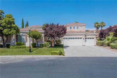 Las Vegas Single Family Home Under Contract - No Show: 1305 Misty Moat Street