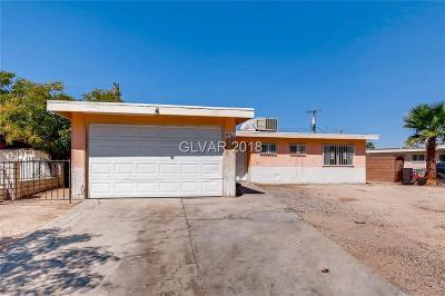 North Las Vegas Single Family Home For Sale: 3420 East Diana Drive