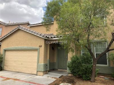 Las Vegas Single Family Home Under Contract - No Show: 2401 Blue Aloe Court